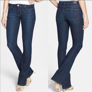 Paige Manhattan jeans in Armstrong -worn less 5x